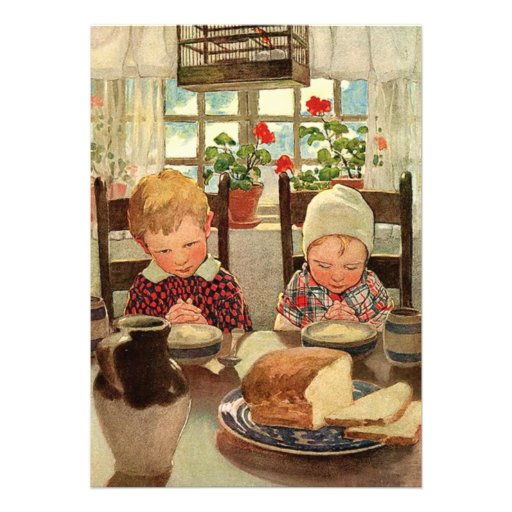 Crianças do vintage, festa de aniversário dos gême convite