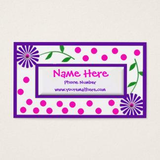 Crianças e mamães lunáticas Cal… Cartão De Visitas