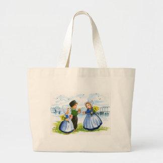 Crianças holandesas bolsas