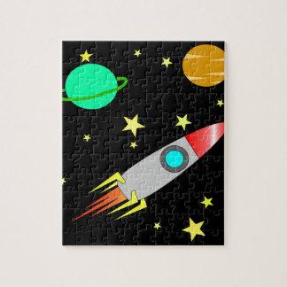 Crianças legal das estrelas dos planetas de Rocket Quebra-cabeças
