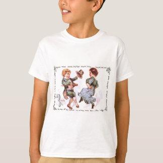 Crianças que dançam o gabarito do Shillelagh Tshirts