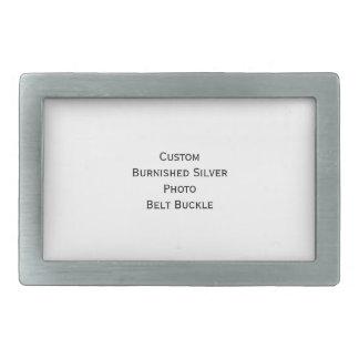 Criar a fivela de cinto de prata dada polimento