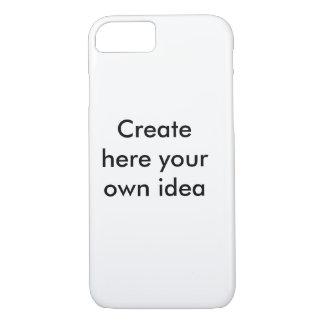Criar aqui sua própria ideia - pela camisa capa iPhone 7