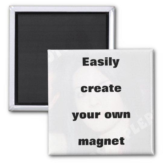 Criar facilmente seu ímã removem o texto grande! imã