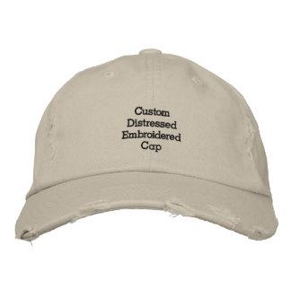 Criar o boné bordado afligido legal/chapéu do