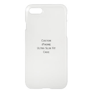 Criar o caso ultra magro feito sob encomenda do capa iPhone 7