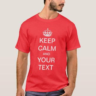 Criar/personalize seus próprios mantêm a camisa