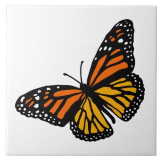 Criar seu azulejo da borboleta de monarca da cor