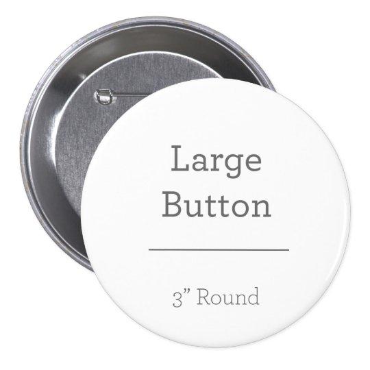 Grande, 7,6 Cm Botão redondo