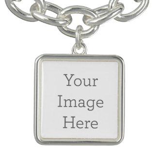 Criar seu próprio bracelete quadrado do encanto