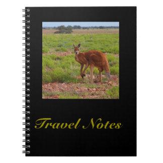 Criar seu próprio caderno do viagem