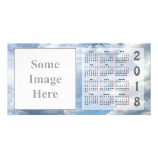 Criar seu próprio cartão com fotos de 2018