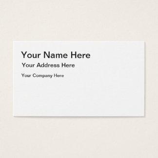 Criar seu próprio cartão de visita