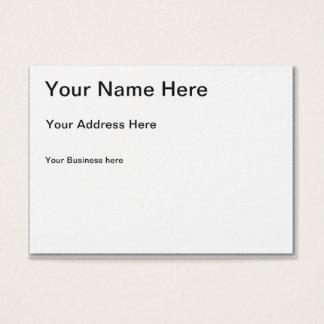 Criar seu próprio cartão de visita carnudo
