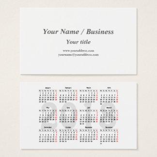Criar seu próprio cartão de visita de 2018