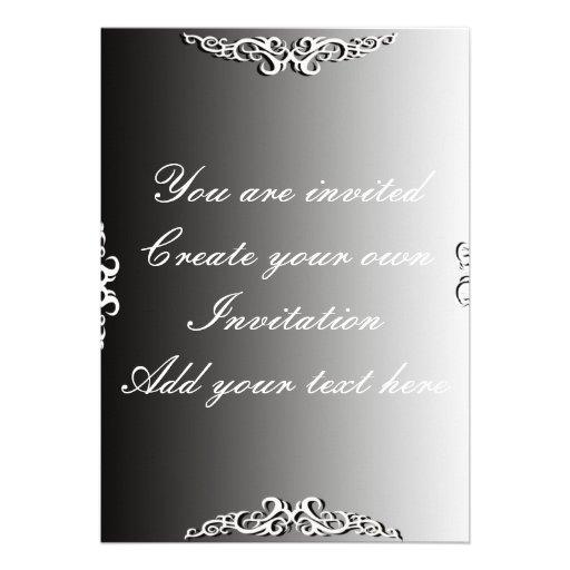 Criar seu próprio convite para tudo