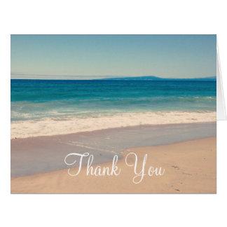 Criar seu próprio obrigado da foto você cartão comemorativo grande
