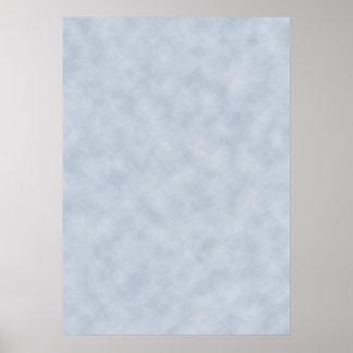 Criar seu próprio poster no pergaminho azul