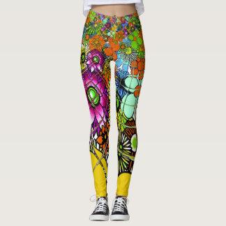 Criar seu próprio teste padrão original à moda leggings