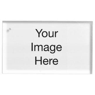 Criar seu próprio titular do cartão da mesa suportes para cartao de mesa