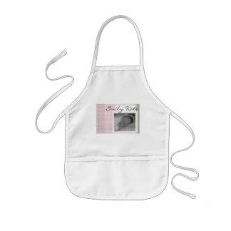 Criar seus próprios anúncios do bebê avental infantil