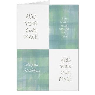 Criar seus próprios cartão comemorativo