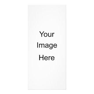 Criar seus próprios cartões feitos sob encomenda 10.16 x 22.86cm panfleto