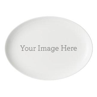 Criar sua própria bandeja do cupé da porcelana