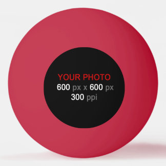 Criar sua própria bola vermelha de Pong do sibilo