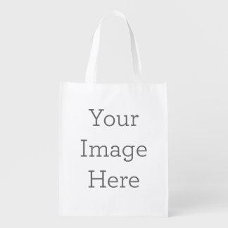 Criar sua própria bolsa de compra reusável sacola ecológica