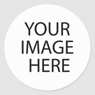 Criar sua própria etiqueta adesivos em formato redondos
