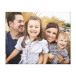 Criar sua própria foto de família impressão em tela