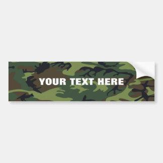 Criar sua própria frase camuflada adesivo para carro