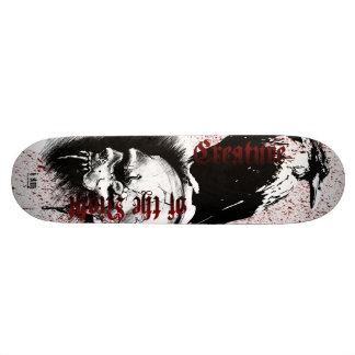 Criatura de Decks™ do osso da noite Shape De Skate 21,6cm