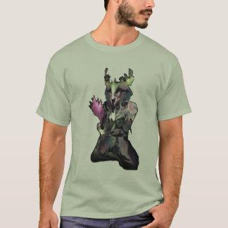 Criatura ideal no fundo cru camiseta