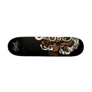 Criminalz original: Lobo do fumo Skates Personalizados