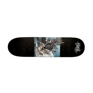 Criminalz original: Mesmo a contagem Shape De Skate 18,7cm