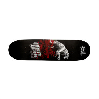 Criminalz original: Wolff branco Shape De Skate 21,6cm