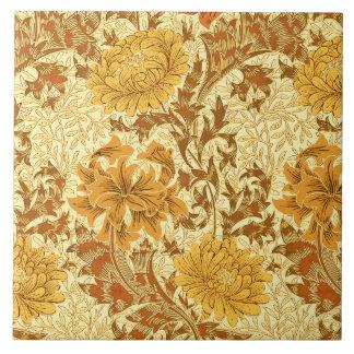 Crisântemos de William Morris, ouro da mostarda