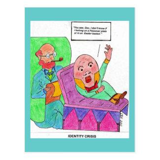Crise de identidade da páscoa/Passover Cartão Postal