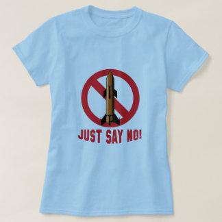 Crise de Rocket do míssil da Coreia do Norte T-shirt