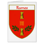 Crista da brasão/família de Ramos Cartoes