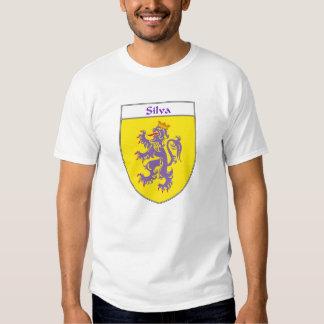 Crista da brasão/família do Silva Tshirts