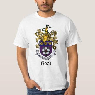 Crista da família da bota/t-shirt da brasão camiseta