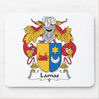 Crista da família das Lamas Mouse Pad