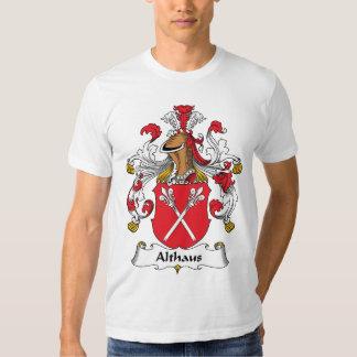Crista da família de Althaus Camiseta