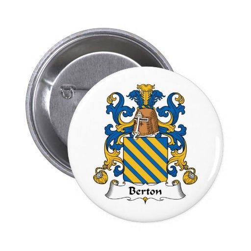 Crista da família de Berton Botons