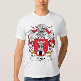 Crista da família de Braga Tshirts