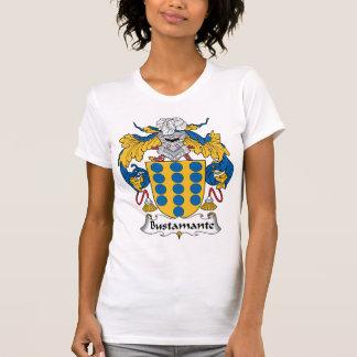 Crista da família de Bustamante T-shirts