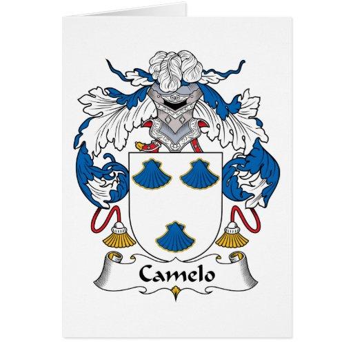 Crista da família de Camelo Cartões